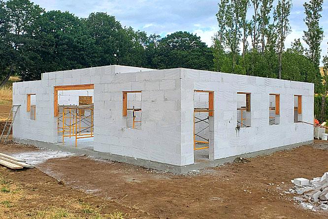 concrete blocks housing